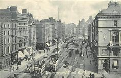 Westmoreland Street, Dublin late C. or early Old Pictures, Old Photos, Family Origin, Photo Engraving, Dublin City, Magical Forest, Dublin Ireland, Old Postcards, Book Of Life