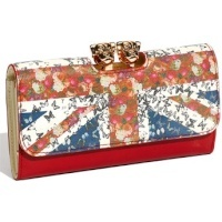 Ted Baker wallet with union jack * I own this wallet. Great quality and the details are fun and cute*