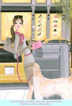 ooh la frou frou  .... artist Sandra Shelton