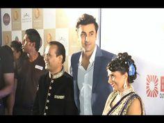 Ranbir Kapoor at the red carpet of Bright Awards 2014.