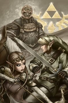 The Legend of Zelda Fan Art - Created by Brandon Dunn