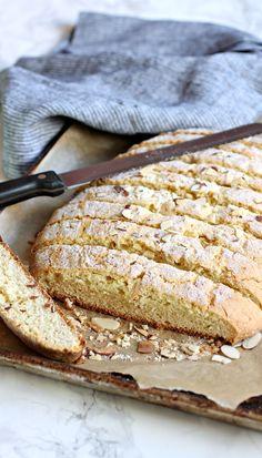 Almond Mandel Bread Cookies