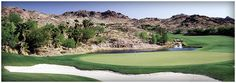 Stunning vistas at every turn, including a 3600 foot peak at Red Mountain to the incredible amenities and service, lightning quick greens and outstanding forecaddies. #LasVegas #golf #golfcourse