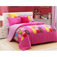4-piece luxury cotton bedding sets Elegant Girl