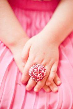 Make Sprinkle Ring Party Favors | The Sweet Lulu Blog