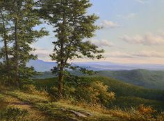 A View From the Top by Andrew Orr Oil ~ 18 x 24