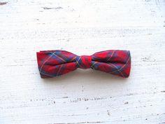 Preppy Vintage Bow Tie