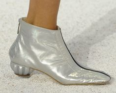 I'm pointing at you this morning:)   JK<3 Chanel  Chanel RTW Spring 2012 Shell Bags, Sea Urchin Heels