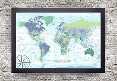 World map with usa states usa states and cities map with usa world map with usa states usa states and cities map with usa details aqua turquoise large world map watercolor push pin map usa map gumiabroncs Image collections