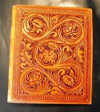 custom made leather, Clair Kehrberg Fine Leather Art General Store