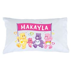 Care Bears Team Care-A-Lot Pillowcase - Bedding & Blankets - Decor | Tv's Toy Box