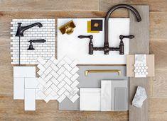 Gambrel   Barn & Vine Bridgehampton -- kitchen tile faucet backsplash cabinets knobs pulls