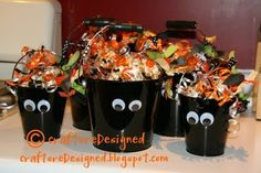 Halloween Candy Pales!!