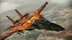 Happy Halloween camo F-14D Tomcat