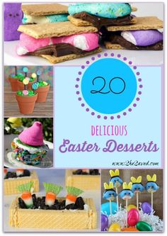 20 Delicious Easter Desserts - SheSaved®️️️️️️️️️