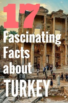 Here are 17 facts about Turkey that will surprise you. One fact is that it has one of the best sea turtle nesting beaches in the Mediterranean.  Read on to find out the other 16.  For more info about Turkey visit @turkeyhome on Pinterest.