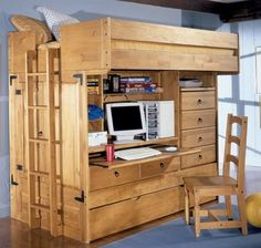 Desk Bunk Beds Loft With Stairs With Many Drawers Bunk Beds And Modern Bunk Beds Online. Smart Plans For Bunk Beds With Stairs. Alocazia Awesome Home Design Ideas Rustic Bunk Beds, Bunk Beds Small Room, Bunk Bed With Desk, Loft Bunk Beds, Wooden Bunk Beds, Bunk Beds With Stairs, Kids Bunk Beds, Small Rooms, Wooden Stairs