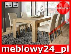 meblowy24 - Stół rozkładany INDIGO - dąb naturalny