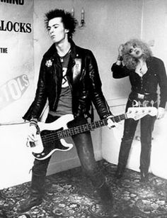 Rebellious duo, Sid and Nancy