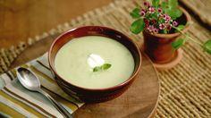 Crema de guisantes con menta (Spring pea soup with mint) - Anna Olson - Receta - Canal Cocina