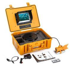 """20 m onderwater video camera vissen fishfinder 7 """"kleur tft lcd-scherm"""