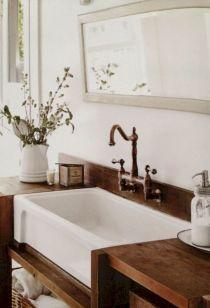 42 Awesome Farmhouse Bathroom Remodel Decor Ideas