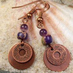 Wisteria Earrings  by MySoulCanDance.etsy.com