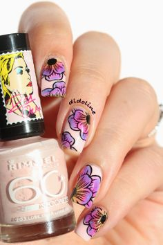 Stunning flowers from Didoline's Nails