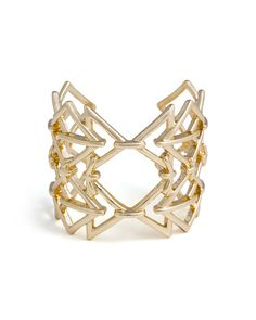 The Geo Mix Cuff by JewelMint.com, $29.99