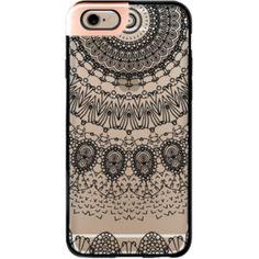 iPhone 6 Plus/6/5/5s/5c Metaluxe Case - BOHO BLACK LACE by Monika Strigel