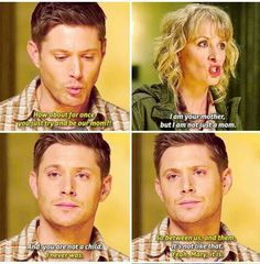 This scene broke my heart #supernatural #deanwinchester #marywinchester #spnfamily #akf