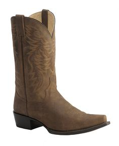 Red Ranch Distressed Mignon Cowboy Boots - Snip Toe