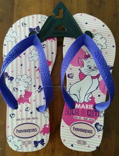 83edf0f04700ab Havaianas Flip Flop for Girls Made in Brazil Free Shipping Aristocat 6-7  Years