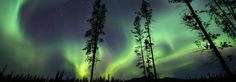 Northern Lights in Whitehorse, Yukon (Lodge and Spa look amazing!)