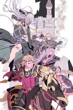 [Fire Emblem Fates | Nohr Family] Fight Me ( ง͡° ͜ʖ ͡°)ง Azura, Corrin, Xander, Camilla, Leo, Elise