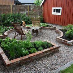 34 Creative DIY for Garden Projects You'll Want to Save Garden layout, Herb garden, Backyard garden, Herb Garden Design, Garden Types, Circular Garden Design, Formal Garden Design, Diy Garden, Garden Landscape Design, Garden Crafts, Garden Care, Garden Cottage