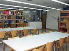 Vista general de la sala lectura de la biblioteca