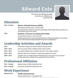 Sample Resume Word Format Enchanting Free Resume Download Senior Management  Microsoft Word Format .