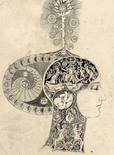 Anachronistic Style Illustrations by Sveta Dorosheva