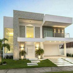 Top 10 Modern house designs – Modern Home House, House Goals, House Front, Modern House Design, House Exterior, Facade Design, House Styles, Modern House Exterior, House Designs Exterior