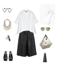 Less Is More by futuraocculto on Polyvore featuring moda, Paul & Joe, blackandwhite, minimal, lessismore, acnestudios and cord