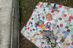 patchwork quilt love