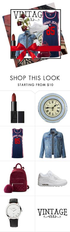 """Everyday Outfit"" by daeix001 ❤ liked on Polyvore featuring Tommy Hilfiger, LE3NO, NIKE and Links of London"