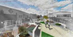 Sidewalks: The New Planning Frontier Sidewalks, Urban Planning, Landscape, Scenery, Road Pavement, Walkways, Walkway, Corner Landscaping