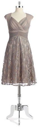 Jax Studio Lace and Mesh Bodycon Dress on shopstyle.com