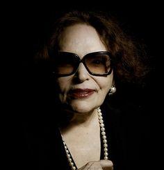 Bibi Ferreira, excelente atriz brasileira. / Bibi Ferreira, great Brazilian actress.