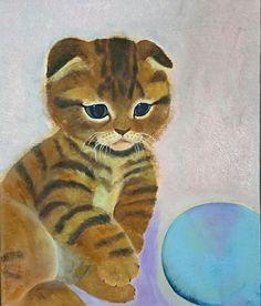 CUTE画「仔猫」[月香] | ART-Meter