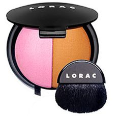 "Six Items to Swap in Your Makeup Bag: Blush and bronzer.  Blushes and bronzers last forever and still we tend to use them way past their two-year expiration date without even knowing it. So instead of buying multiple blushes and bronzers, try a duo. It will save you not only some cash, but room in your makeup bag.     Lorac Blush/Bronzer Duo in ""Hot Flash,"" Sephora.com, $30."