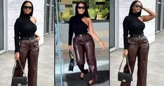 VIDEO: Style Influencer Mihlali Ndamase Almost Breaks Her Ankle Whilst Slaying In Public: See Twitter Reactions! African Dresses Men, African Wear, African Fashion, Fashion Shoot, Fashion News, Fashion Models, Baggy Jumpsuit, Black Christian Louboutin, African Models
