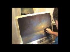 moonlight Demonstration using chalk pastels